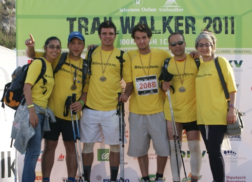 @Intermón Oxfam Trailwalker 2011